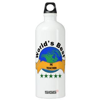 World's Best PE Teacher Water Bottle