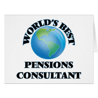 World's Best Pensions Consultant Card