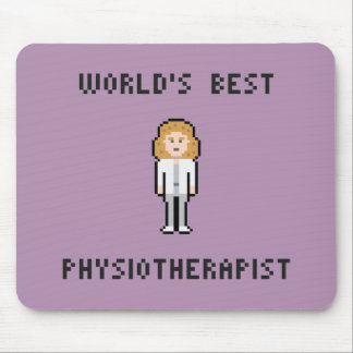 World's Best Physiotherapist Mousepad