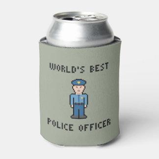 World's Best Pixel Police Officer Can Cooler