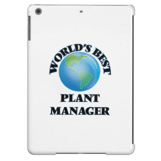 World's Best Plant Manager iPad Air Cover