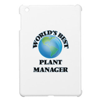 World's Best Plant Manager Case For The iPad Mini