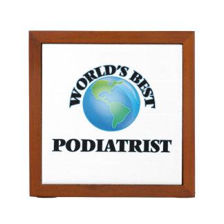 World's Best Podiatrist Desk Organiser