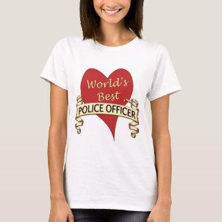 World's Best Police Officer T-Shirt
