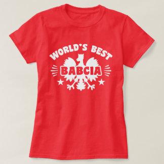 World's Best Polish Babcia T-Shirt