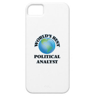 World's Best Political Analyst iPhone 5 Cases