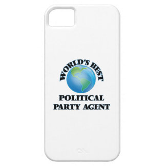 World's Best Political Party Agent iPhone 5 Cases