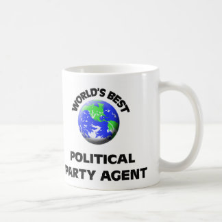 World's Best Political Party Agent Coffee Mugs