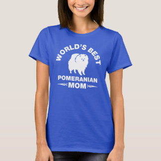 world's best pomeranian mom T-Shirt