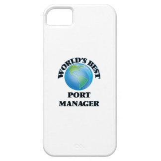 World's Best Port Manager iPhone 5 Cases