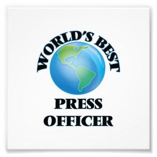 World's Best Press Officer Photo