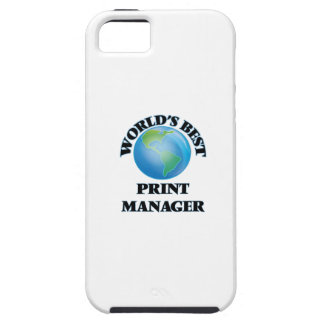 World's Best Print Manager iPhone 5 Case