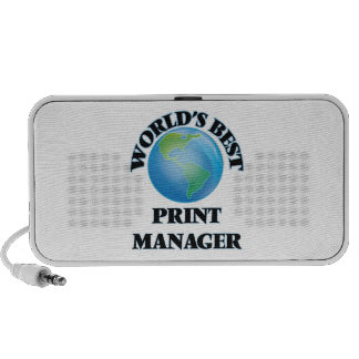 World's Best Print Manager Travel Speakers