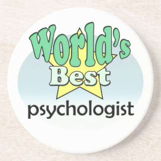 World's best Psychologist Coaster