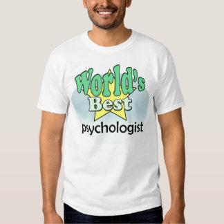 World's best Psychologist Tee Shirts
