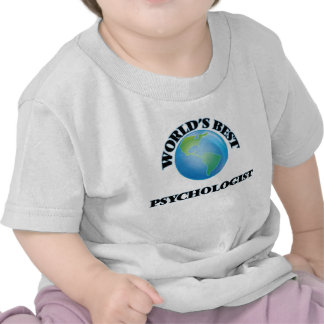 World's Best Psychologist T-shirt