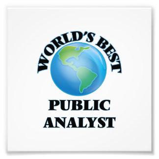 World's Best Public Analyst Photo Art