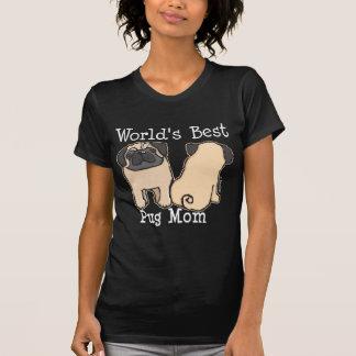 World's Best Pug Mum T-Shirt