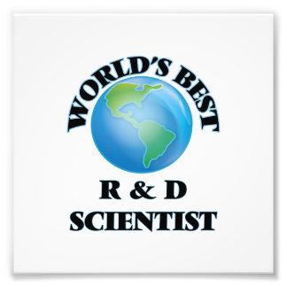 World's Best R & D Scientist Photo