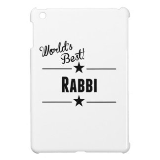 World's Best Rabbi Cover For The iPad Mini