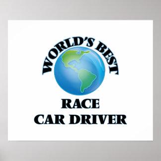 World's Best Race Car Driver Print