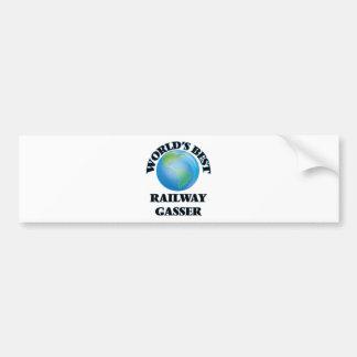World's Best Railway Gasser Bumper Sticker