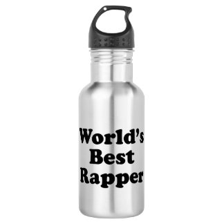 World's Best Rapper 532 Ml Water Bottle