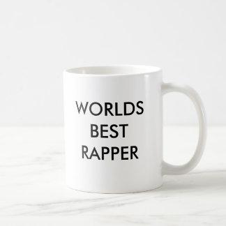 WORLDS BEST RAPPER BASIC WHITE MUG