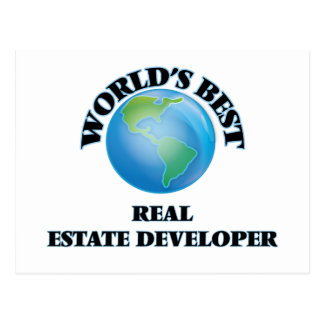 World's Best Real Estate Developer Post Cards