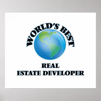 World's Best Real Estate Developer Poster