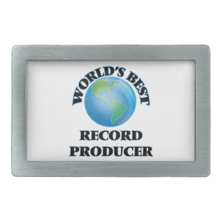 World's Best Record Producer Belt Buckle