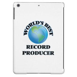 World's Best Record Producer iPad Air Case