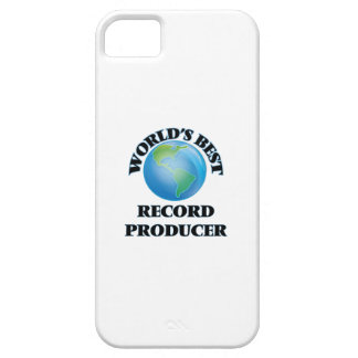 World's Best Record Producer iPhone 5 Case