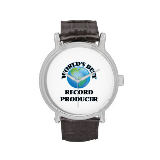 World's Best Record Producer Wristwatch