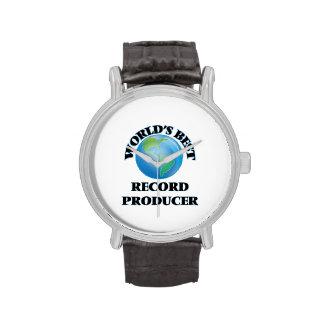 World's Best Record Producer Wristwatch