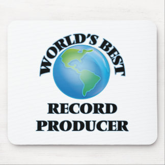 World's Best Record Producer Mouse Pads