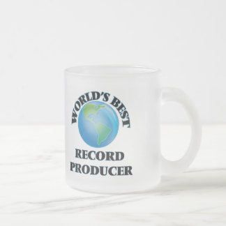 World's Best Record Producer Mugs
