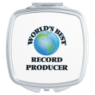 World's Best Record Producer Makeup Mirror