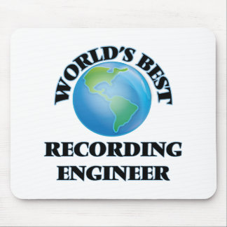 World's Best Recording Engineer Mousepads