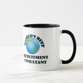 World's Best Recruitment Consultant Mug