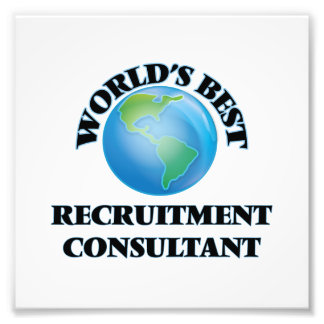 World's Best Recruitment Consultant Photograph