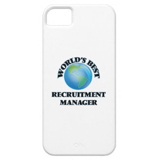 World's Best Recruitment Manager iPhone 5 Cover