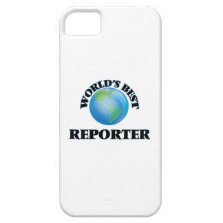 World's Best Reporter iPhone 5 Cases