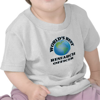 World's Best Research Officer T-shirts