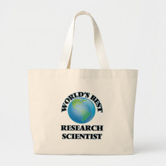 World's Best Research Scientist Tote Bag