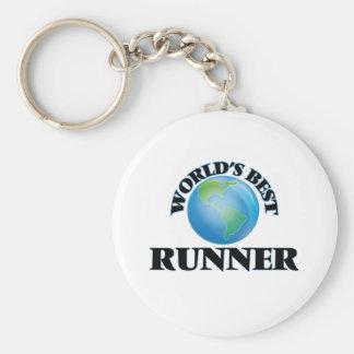 World's Best Runner Keychain