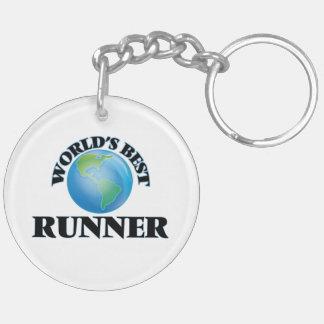 World's Best Runner Acrylic Key Chains