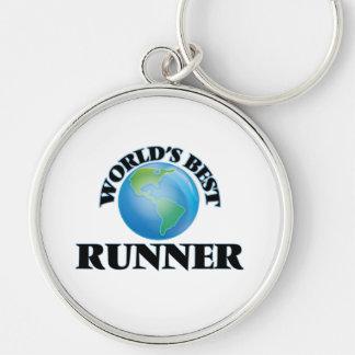 World's Best Runner Keychains