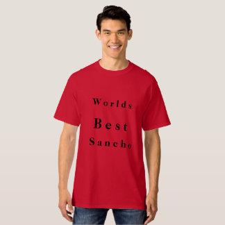 Worlds best sancho t-shirt
