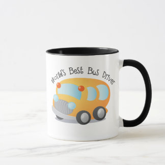World's Best School Bus Driver Gift Mug